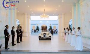 Compact Việt Thi Công Vách Ngăn Di Động Tại Queen Plaza Cho Sự Kiện 3500 Khách