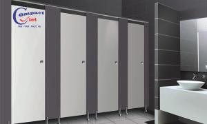 Tiết lộ 5 lý do nên lựa chọn vách ngăn vệ sinh Compact HPL