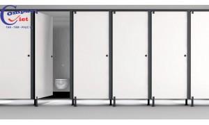 Tiêu chuẩn kỹ thuật của vách ngăn vệ sinh Compact HPL