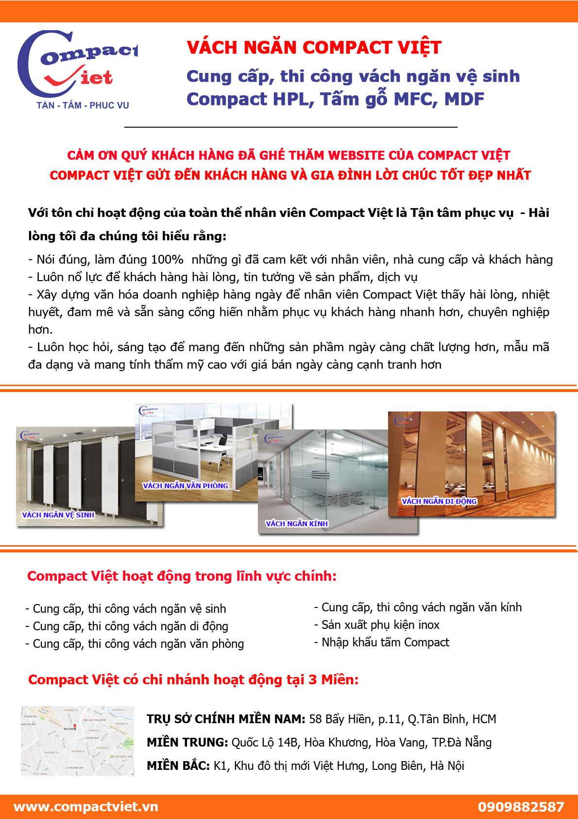 Tổng quan vách ngăn Compact Việt 1
